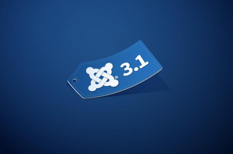 Joomla! 3.1.0 Tag Field