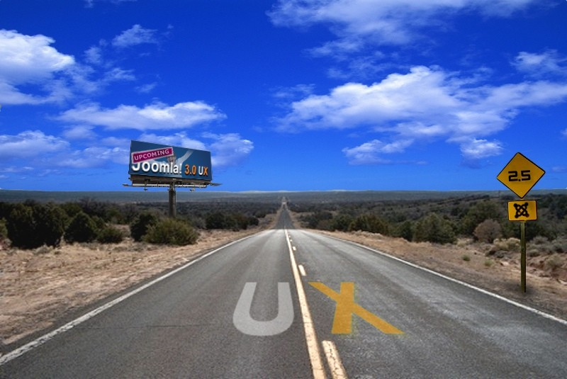 The Roadmap For a Great Joomla! 3.0 UX