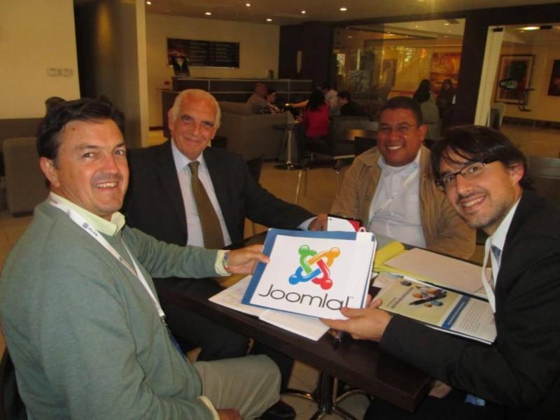 """Joomla! para fomentar el """"Gobierno Abierto"""" de Patzún en el XIX Congreso del CLAD2014, Centro Latinoamericano de Administradores para el Desarrollo"""