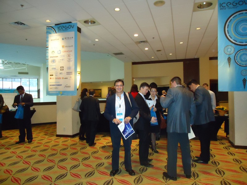 eGovernment - Joomla and Patzun Municipality at ICEGOV2012, electronic government world conference""