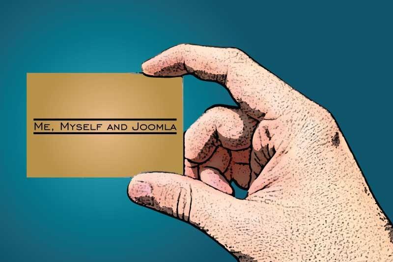 Personal Branding with Joomla
