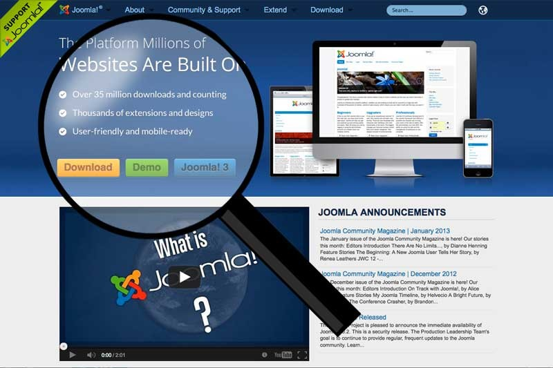 Have You Browsed Joomla.org Lately?