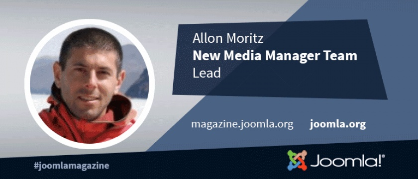Joomla 4 Interview Series: Allon Moritz, New Media Manager Team Leader
