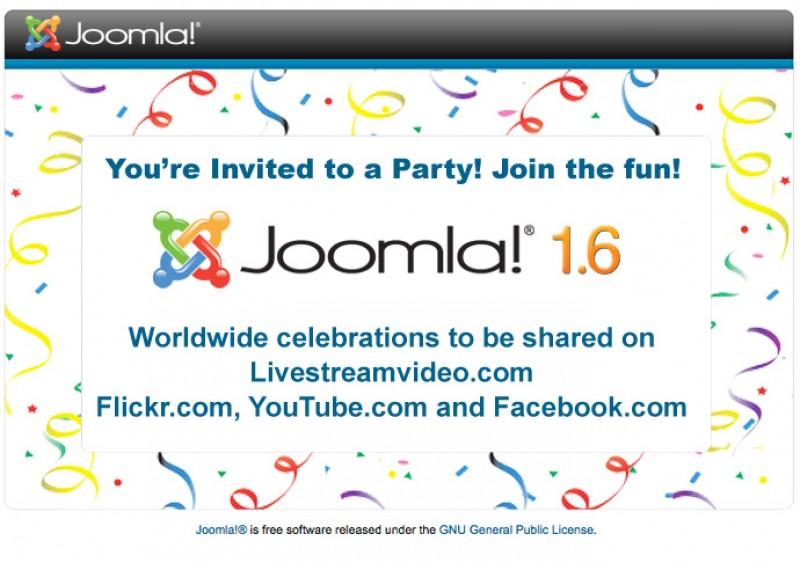 Party Like It's Joomla! 1.6