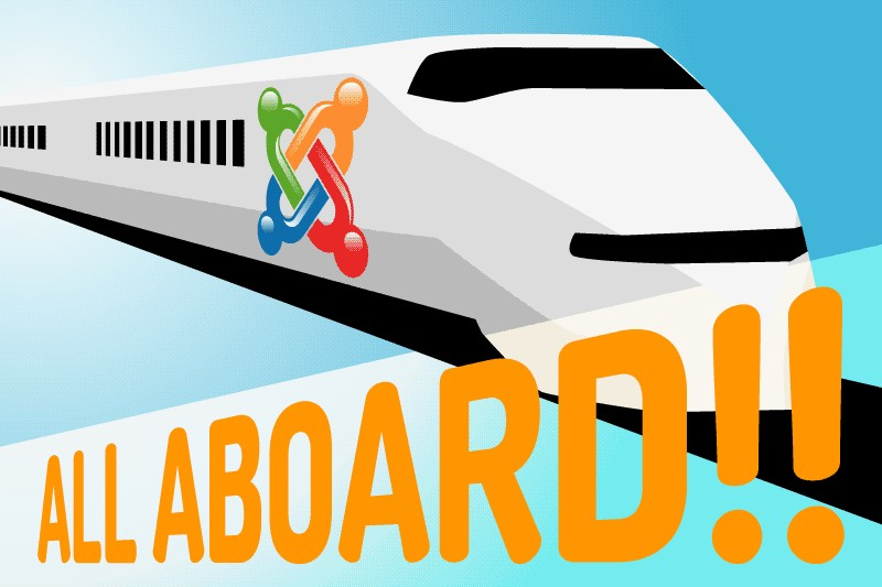 On Track with Joomla!