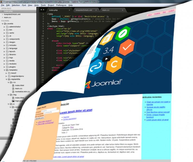 Cómo crear una plantilla front-end para Joomla! desde cero (parte 5): agregando un video en el index.php
