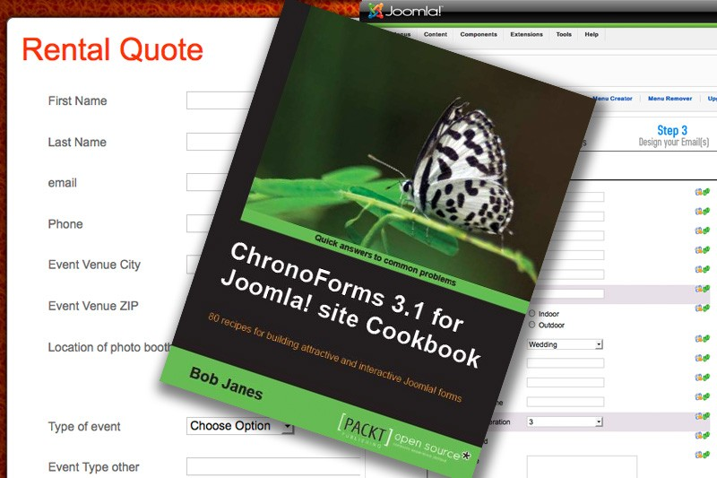 "Review: ""ChronoForms 3.1 for Joomla! Site Cookbook"""