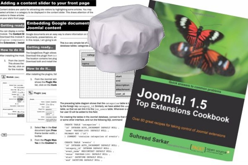 "Review ""Joomla! 1.5 Top Extensions Cookbook"""