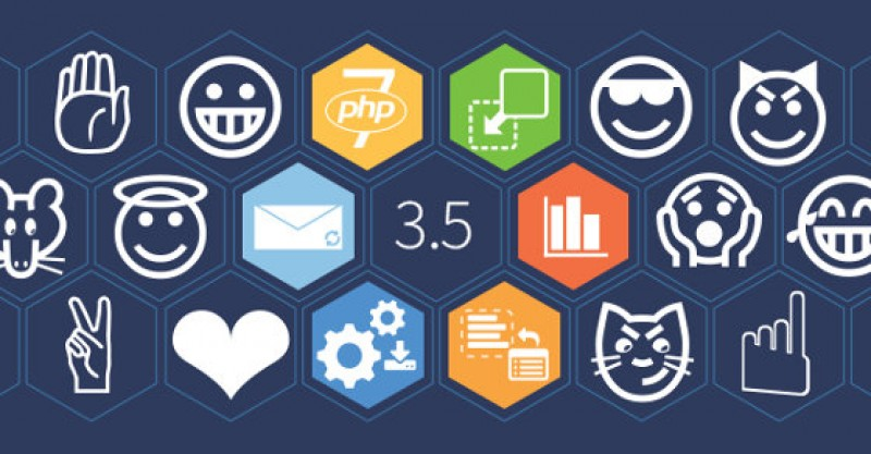 Joomla 3.5: desde 8-bits a Unicode completo