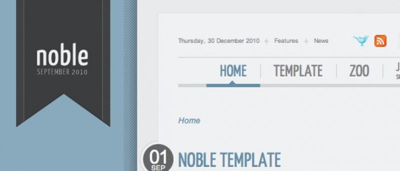 Top 10 Joomla! Template Picks for 2010