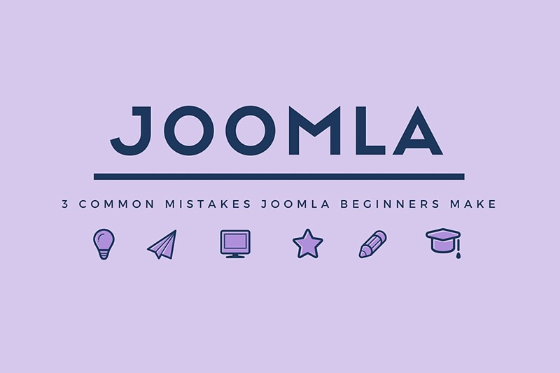 3 Common Mistakes Joomla Beginners Make