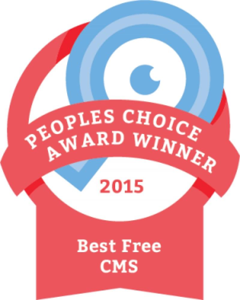 Mejor CMS Gratuito 2015 Joomla!