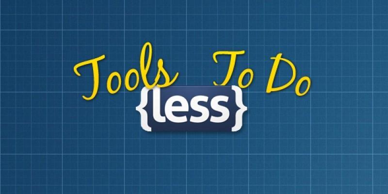 Des outils pour en faire moins ;) (LESS)