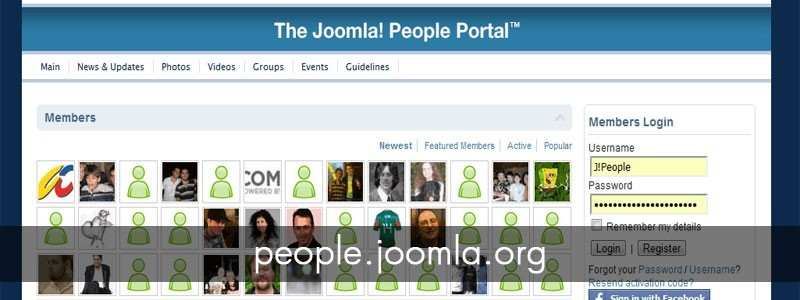Interview: The Joomla! People Portal Admins