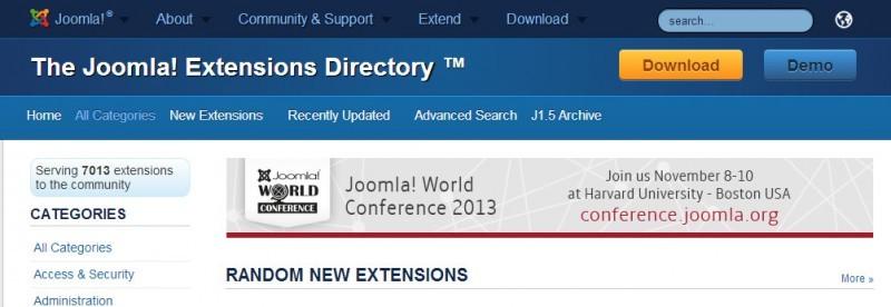 Wie man die richtige Erweiterung findet Teil 4.1: Suchen im Joomla Extension Directory (JED)