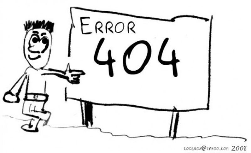 Musterlösung für  404 Fehlerseiten [samt ein paar lustigen Beispielen]