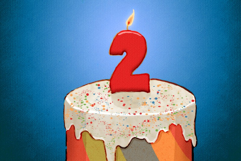 Happy 2nd Birthday, JCM!