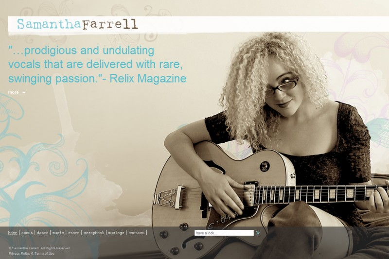 For Rocker Samantha Farrell, Joomla! Rocks