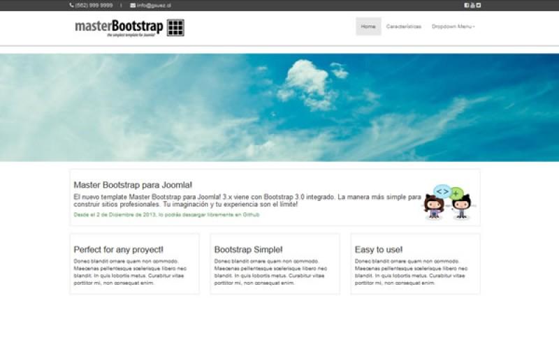 Master Bootstrap para Joomla 3