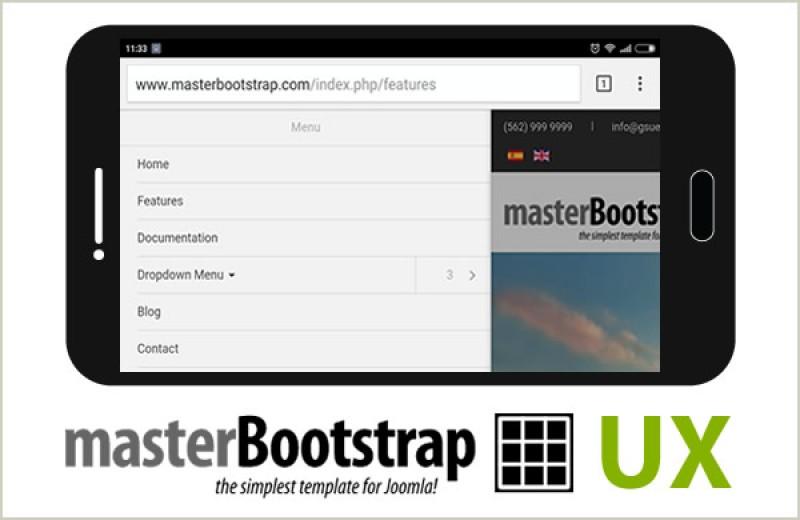 Master Bootstrap v 1.2.0, nuevas características