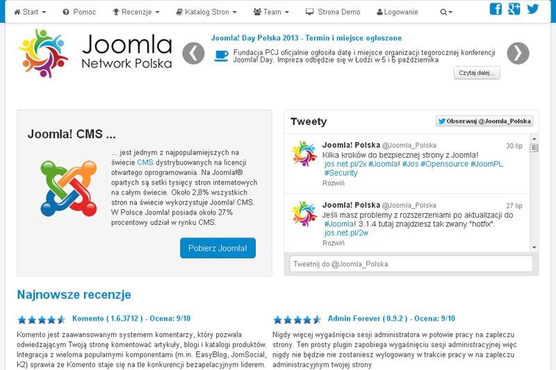 Website Case Study: Polish Joomla! Magazine