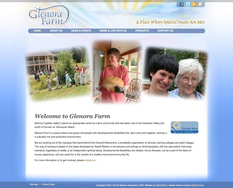 Website Case Study: Glenora Farm
