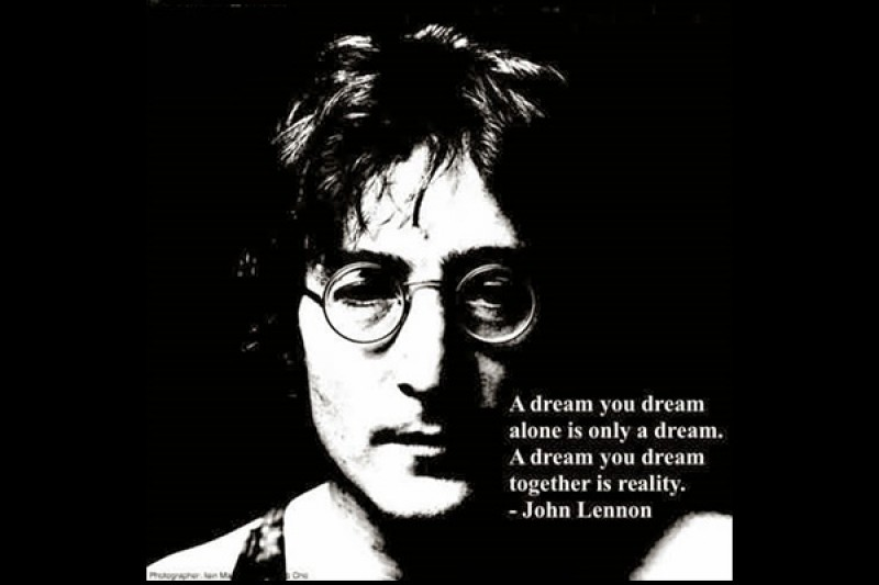 A Dream, Which we Dream Together, is Reality