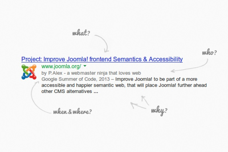 Improve Joomla! Frontend Semantics & Accessibility