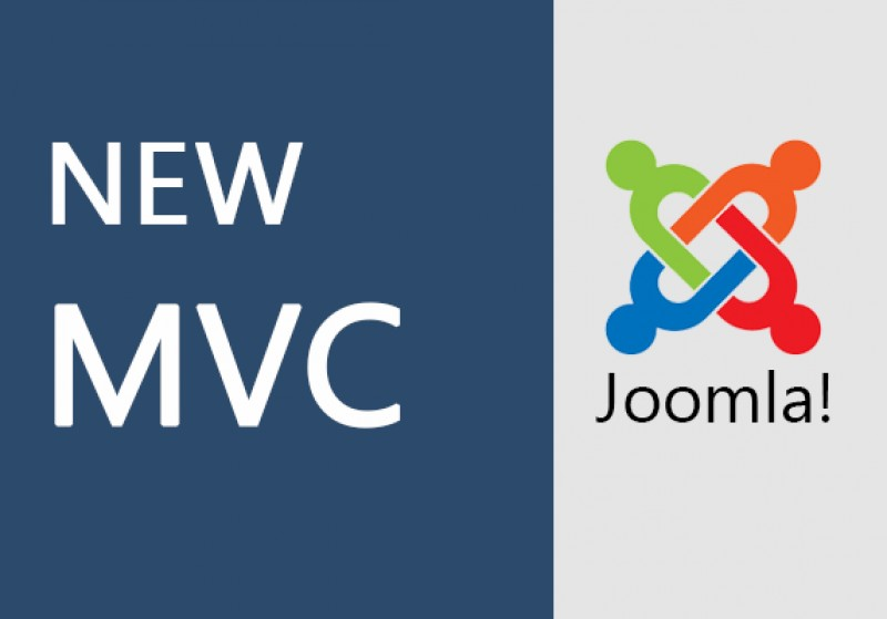 New MVC for Joomla! CMS