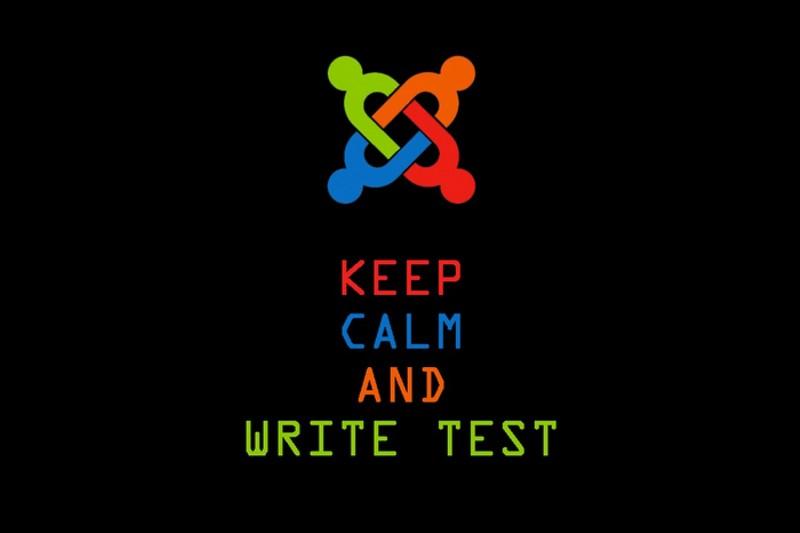 Keep Calm and Write Test