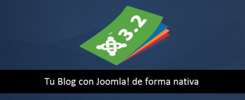 Creación de blogs con Joomla! de forma nativa