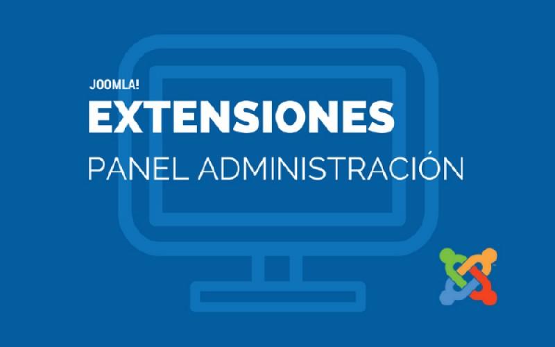 Extensiones para la personalización del panel de administración de Joomla!