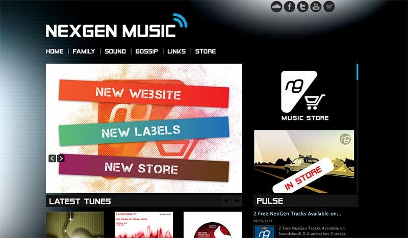 Website Case Study: NexGen Music
