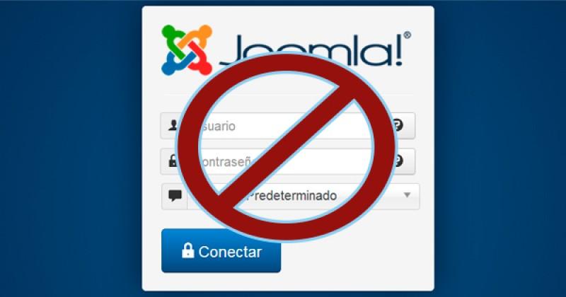 Ocultar el acceso al panel de administración de Joomla!