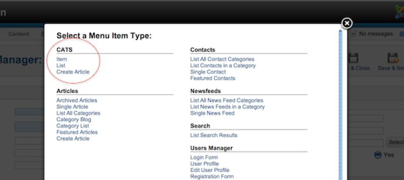 Site Builders can Build Custom Joomla Components