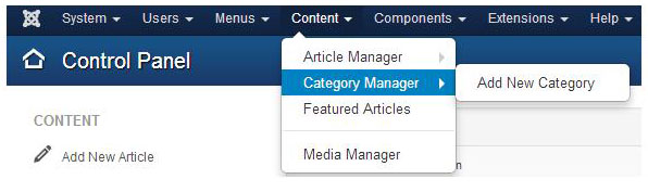 select category manager