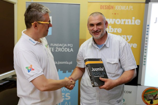 Prize-drawing funded by Joomla sponsors! of User Group Jawor