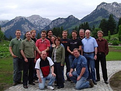 Members of the Joomla! Core Team and Open Source Community Board of Directors who attended the Joomla! Summit in 2008