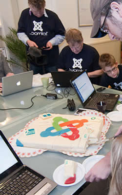 Joomla Pizza Bugs and Birthday cake