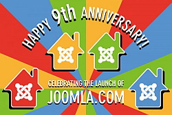 Happy 9th Birthday Joomla! - image by @Helvecio