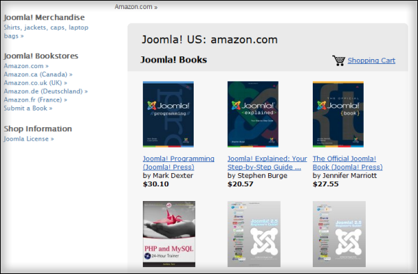 The Joomla Shop| Joomla Core team