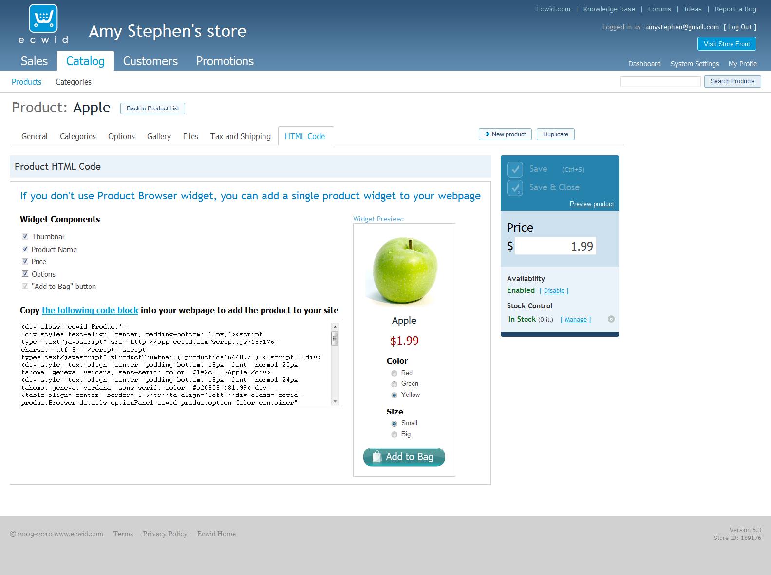 e-Commerce for Joomla! Part Two