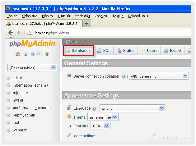 Installing Joomla 3 0 on local host using XAMPP