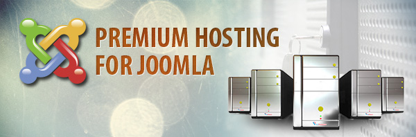 Premium web hosting services for Joomla