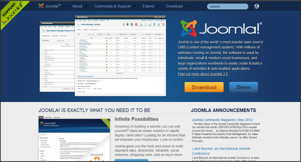 Popular websites using Joomla | Joomla!