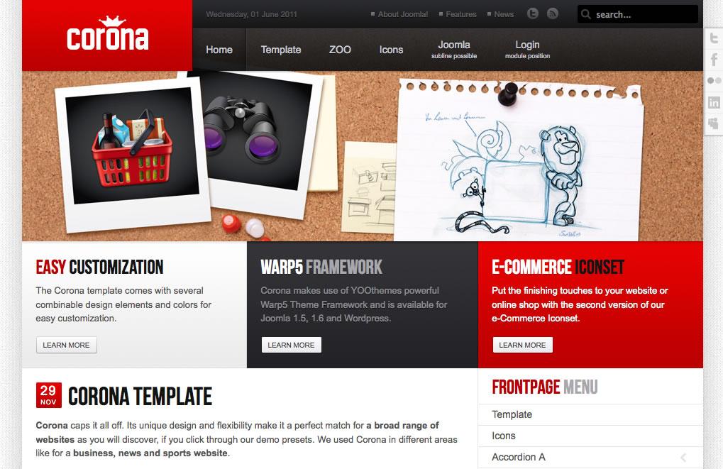 10 sugerencias de diseño web con Joomla! para no diseñadores