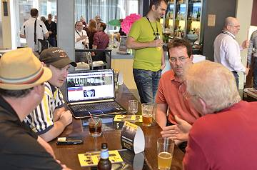 networking at JoomlaDay Minnesota 2014